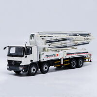 1/50 Zoomlion Mercedes-Benz Actros 52m Concrete Pump Truck Diecast Model Toy