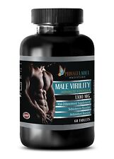 Testosterone pills - MALE VIRILITY FORMULA - Energy Booster - 1 Bottle