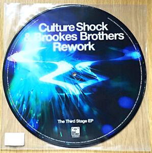 "Culture Shock & Brookes Brothers – Rework / Zeppelin 12"" Vinyl Record RAMM66Y"