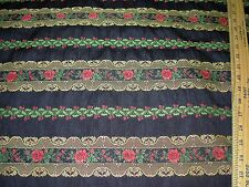 "~BTY~"" BOHEMIAN FLORAL""~EMBROIDERED UPHOLSTERY FABRIC FOR LESS~"