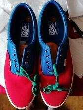 Limited - Vans Era Color-Block Skate Shoe Multi Colour Yacht Club - Size 11