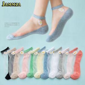 Translucent Daisy Socks