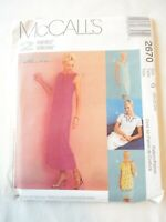 Vintage 2000 Woman's Day Sewing Pattern Long or Short Dress Size 20-22-24
