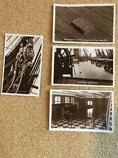 4 x Vintage HMS Victory/Nelson Postcards