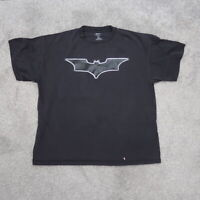Batman The Dark Knight Mens Large Black DC Comic T Shirt