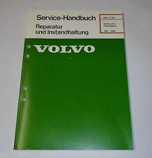 Werkstatthandbuch Elektrik Schaltpläne Volvo 240 ab Baujahr 1986