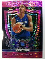 2019 Panini Prizm Draft Picks Crusade Pink Pulsar PJ Washington Jr. Rookie #95
