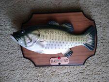 1999 Gemmy Industries Big Mouth Billy Bass Singing Fish