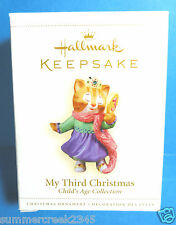"Hallmark ""My Third Christmas"" Ornament 2006"