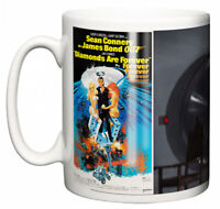 Dirty Fingers Mug, Sean Connery James Bond Diamonds Are Forever, Film Poster