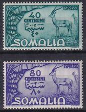 1950 COLONIES SOMALIA AFIS expressed n.1/2 NEW MNH **