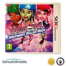 Monster High: Skulltimate Rollermaze (Nintendo 3DS)  **GREAT CONDITION**