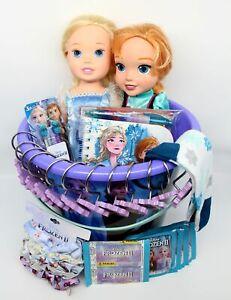 Frozen 2 II Gift Basket Elsa Anna Doll Summer Fun Easter Beach Bucket Disney