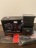 Vivitar SF-4000 Bounce Zoom Flash  Canon EOS / Nikon SLR Camera Film & Digital