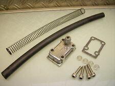 Porta singola ENGINE BREATHER + PIPE XS 650 SFIATO MOTORE SINGOLO + nuovo tubo flessibile