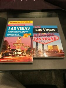 Las Vegas guide books x2