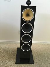 "Bowers & Wilkins CM10 6-1/2"" 3-Way Floorstanding 1 Speaker Gloss Black"