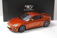 1:18 Century Dragon Toyota GT86 Coupe 2014 orange NEW bei PREMIUM-MODELCARS