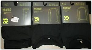All in Motion Men's Mid-Weight Thermal Shirt or Pants brushed for softness