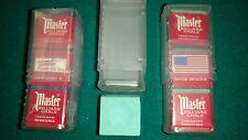 Billiard & Pool Cue Chalk Holder Case (1) &  Pieces Of Green Master Chalk  (3)