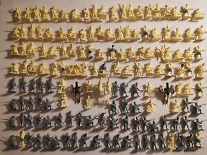 Lot soldats anciens airfix esci Napoléon empire Waterloo figurines 1/72