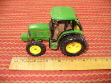"""John Deere 6400 MFWD Diecast Tractor ERTL 1993 6"""" long Played with"""