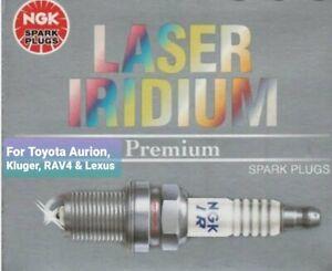 NGK DILFR6D11 x 6 Laser Iridium Spark Plugs For Toyota Aurion Kuger RAV4 Lexus