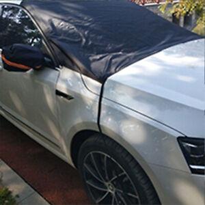 Auto Windshield Protector Snow Cover Front Window Ice Frost Dust Rain Sun Shield