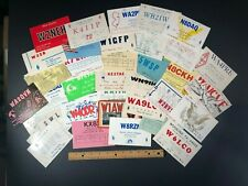 37 Vintage Ham Radio Cb Amateur Shortwave Qsl Cards Postcards