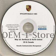 03 2004 PORSCHE CAYENNE S TURBO SPORT NAVIGATION MAP CD 1A NORTHEAST N CENTRAL