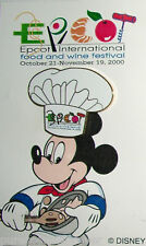 WDW Epcot Food & Wine Festival 2000: Chef Hat LE Pin