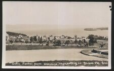REAL PHOTO Postcard GASPE Quebec/CANADA  Ursuline Monastery view 1930's