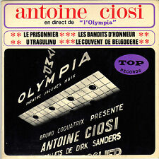 ANTOINE CIOSI MATELOT FERRET EN DIRECT DE L'OLYMPIA LE PRISONNIER FRENCH ORIG EP