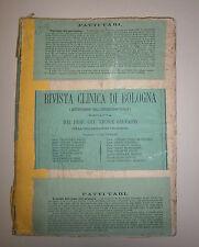 Galvagni # RIVISTA CLINICA DI BOLOGNA # Serie 2 Anno 8 Gennaio/Agosto 1878