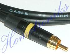 AUDIOPHILE DOLBY DIGITAL 5.1 PHONO (RCA) COAXIAL INTERCONNECT CABLE - 0.25 METRE