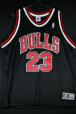 AUTHENTIC Starter Michael Air Jordan Jersey Trikot NBA Trikot Bulls Gr XL 48 52