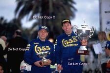 Colin McRae SUBARU IMPREZA 555 Winner Rally San Remo 1996 fotografia 4