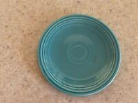 """Fiestaware Fiesta Turquoise 6"""" Bread & Butter Plate 1937-1969"""