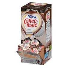 Coffee-Mate Nes35115 Liquid Creamer,Cafe Mocha,0.375 oz.,Pk50