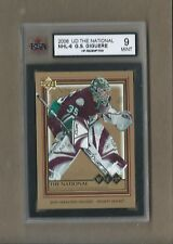 RARE G.S. GIGUERE UD VIP CARD GRADED MINT POPULATION OF 1
