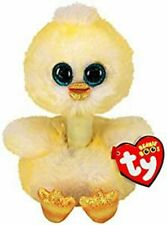 TY BEANIES BENEDICT the DUCKLING 15cm GLITTER EYES