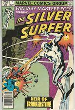 Marvel Comics Fantasy Masterpieces Vol 2 (1979 Series) # 7 FN+ Silver Surfer