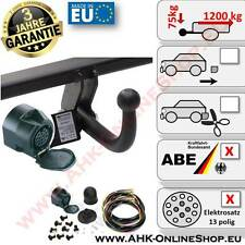 AHK + E-Satz 13 polig Chevrolet Nubira Bj. 2003-2013 Stufenheck Anhängerkupplung
