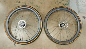 Carbon ROL Cyclocross Wheelset w/ CHRIS KING 11s Hubs & Tires