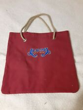 Alabama Country Music Band Themed Bag Red Band Merch Carrier Bag