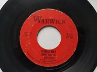 JOHNNY AND THE HURRICANES - Reveille Rock / Time Bomb 1959 GARAGE ROCK Warwick