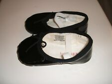 Baby Bloch Black Patent Leather Ballerina Shoes - Infant Size 3/4 or 9 Months