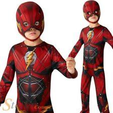 garçons LA LIGUE DES JUSTICIERS FLASH Déguisement DC Comics Super Héros costume