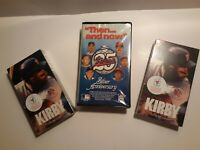 VTG Minnesota Twins VHS lot of 3 Kirby Puckett NIB Then Now 25 yr anniversary