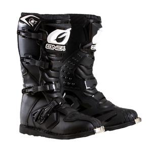 O'Neal Rider Boots - Black - Track, Trail, ATV